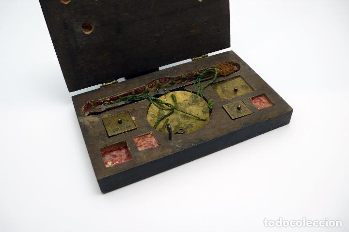 Antigüedades: ANTIGUA BALANZA EN HIERRO forjado SIGLO S.XVIII- XIX - Foto 3 - 46001234