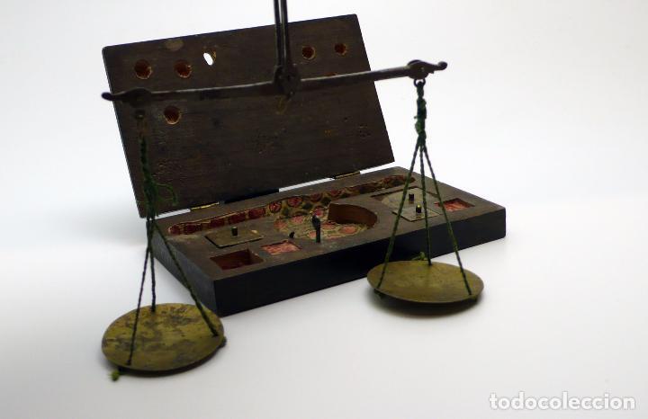 Antigüedades: ANTIGUA BALANZA EN HIERRO forjado SIGLO S.XVIII- XIX - Foto 5 - 46001234