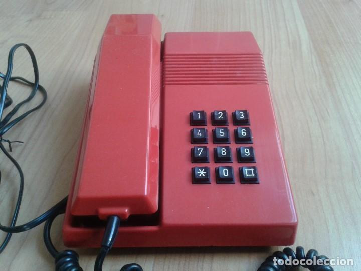 Teléfonos: Teléfono Rojo y negro -- Amper -- Made in Spain -- Perfecto estado -- Funcionando -- ver fotos - Foto 2 - 101084519