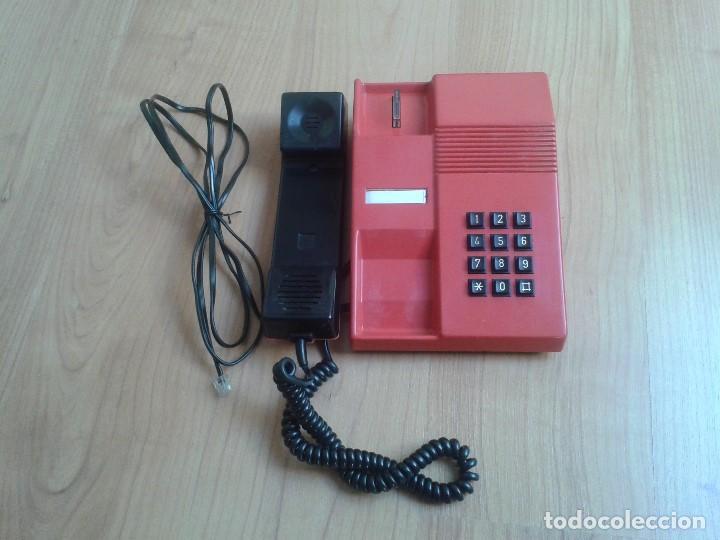 Teléfonos: Teléfono Rojo y negro -- Amper -- Made in Spain -- Perfecto estado -- Funcionando -- ver fotos - Foto 4 - 101084519