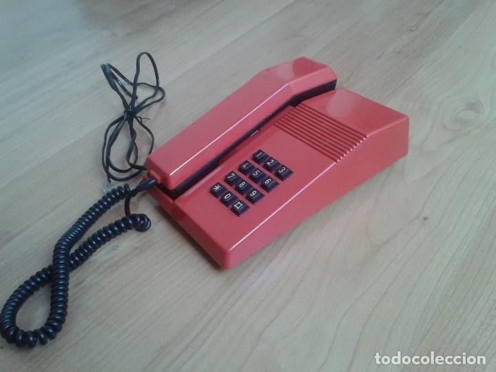 Teléfonos: Teléfono Rojo y negro -- Amper -- Made in Spain -- Perfecto estado -- Funcionando -- ver fotos - Foto 7 - 101084519