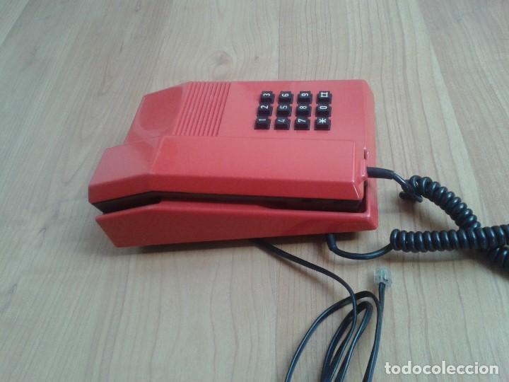 Teléfonos: Teléfono Rojo y negro -- Amper -- Made in Spain -- Perfecto estado -- Funcionando -- ver fotos - Foto 8 - 101084519