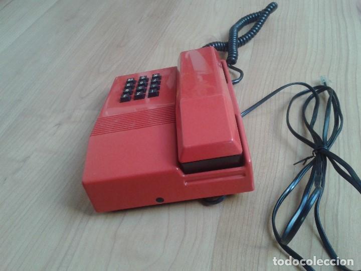 Teléfonos: Teléfono Rojo y negro -- Amper -- Made in Spain -- Perfecto estado -- Funcionando -- ver fotos - Foto 9 - 101084519
