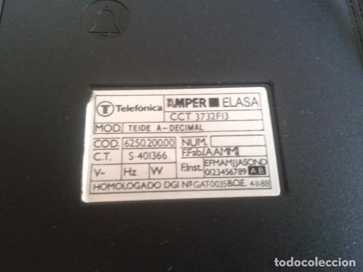 Teléfonos: Teléfono Rojo y negro -- Amper -- Made in Spain -- Perfecto estado -- Funcionando -- ver fotos - Foto 11 - 101084519