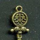 Antigüedades: LLAVE ANTIGUA DE BRONCE - MIDE 4,3 X 1,4 CENTIMETROS Y PESA 4,11 GRAMOS - Nº172. Lote 101124307