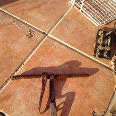 Antigüedades: ANTIGUO CERROJO, CERRADURA, PASADOR,.... Lote 101141823