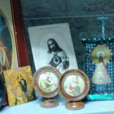 Antigüedades: VARIADO LOTE DE CUADROS RELIGIOSOS. Lote 101171311