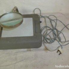 Antigüedades: ANTIGUA LUPA CON LUZ DE JOYERO, ORIGINAL.. Lote 101218679