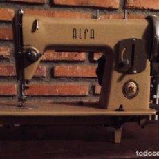 Antigüedades: MÁQUINA DE COSER ALFA·1960. Lote 101237471