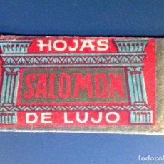 Antigüedades: HOJA DE AFEITAR ANTIGUA-SALOMON-DE LUJO-VINTAGE. Lote 101354063