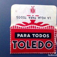 Antigüedades: HOJA DE AFEITAR ANTIGUA-TOLEDO PARA TODOS-VINTAGE. Lote 101354903