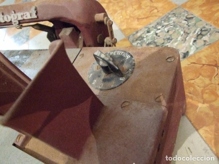 Antigüedades: IMPRENTA MANUAL MARCA CITOGRAF - FABRICACION SUECIA - COMPLETA Y EN BUEN ESTADO - Foto 5 - 101406615