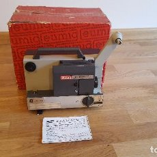 Antigüedades: PROYECTOR SUPER 8 EUMIG MARK 502 D. Lote 101412467