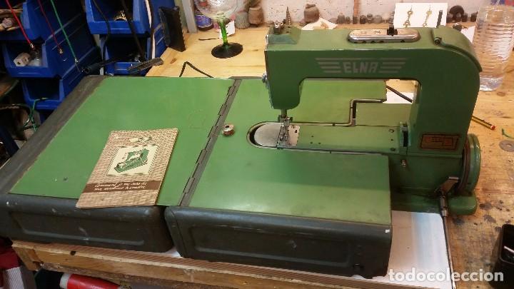 Antigüedades: Máquina coser ELNA - Foto 3 - 101468263