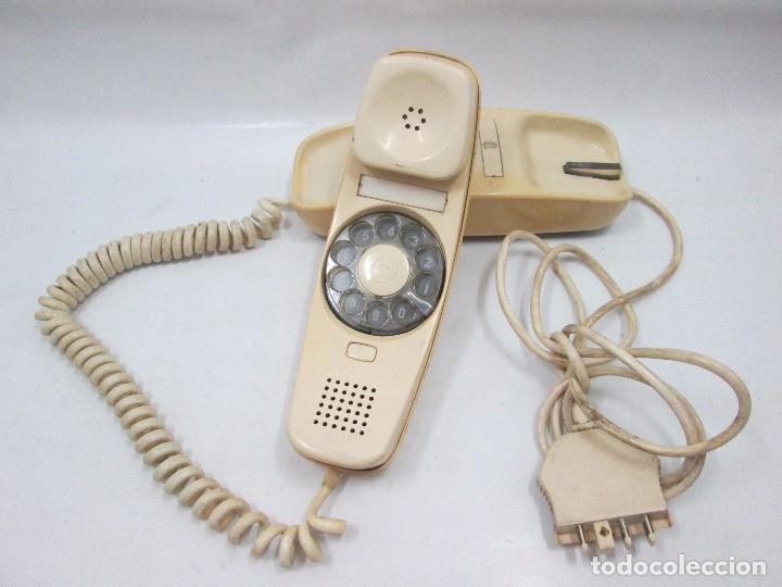 A-437 / ANTIGUO TELEFONO VINTAGE - GÓNDOLA BLANCO - FUNCIONANDO (Antigüedades - Técnicas - Teléfonos Antiguos)