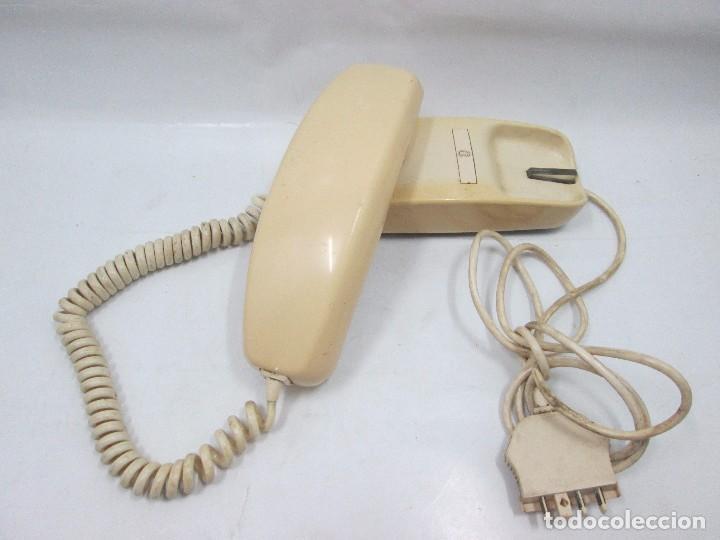 Teléfonos: A-437 / ANTIGUO TELEFONO VINTAGE - GÓNDOLA BLANCO - FUNCIONANDO - Foto 3 - 101468567