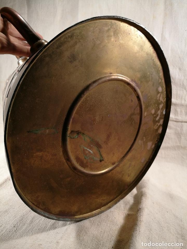 Antigüedades: GRAN MESURA-MEDIDA DE GRANO, SELLA BALDE AÑO 1900.EN COBRE Y LATON CELEMIN-CUARTERA-FANEGA - Foto 15 - 101469203