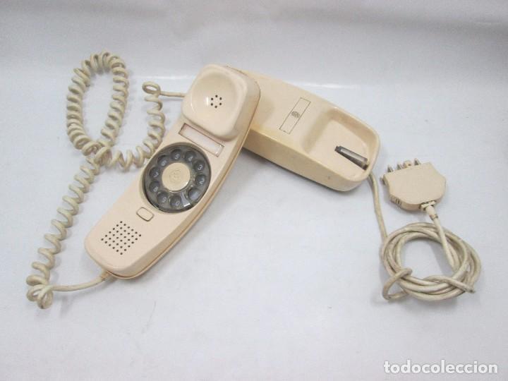 A-438 / ANTIGUO TELEFONO VINTAGE - GÓNDOLA BLANCO - FUNCIONANDO (Antigüedades - Técnicas - Teléfonos Antiguos)
