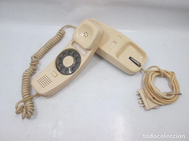 A-439 / ANTIGUO TELEFONO VINTAGE - GÓNDOLA BLANCO - FUNCIONANDO (Antigüedades - Técnicas - Teléfonos Antiguos)