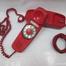Teléfonos: A-441/ ANTIGUO TELEFONO VINTAGE - GÓNDOLA ROJO - NO SE SI FUNCIONA - RARO!. Lote 101482687