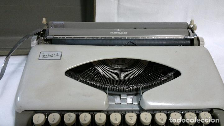 Antigüedades: ANTIGUA MAQUINA DE ESCRIBIR ALEMANA,- MARCA ADLER, MODELO TIPPA 1 CIRCA 1950-1960 - Foto 5 - 29376150