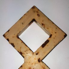 Antigüedades: REMATE DE VERJA. HIERRO FORJADO. ESPAÑA. SIGLO XX.. Lote 101544111
