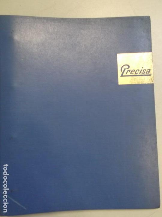 LIBRO DESPIECE Y REPARACION DE MAQUINA SUMADORA MARCA PRECISA, MODELO 108 EN BUEN ESTADO (Antigüedades - Técnicas - Máquinas de Escribir Antiguas - Otras)