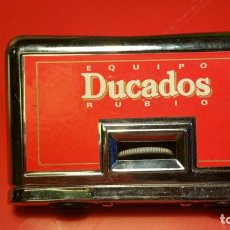 Antigüedades: BINOCULARES PRISMATICOS PLEGABLES MARCA TEKONI 3.5 AÑOS 60 70 PUBLICIDAD DUCADOS. Lote 101761827