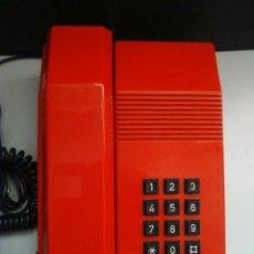 Teléfonos: TELÉFONO TEIDE ROJO TELEFÓNICA ALCATEL. Lote 101925759