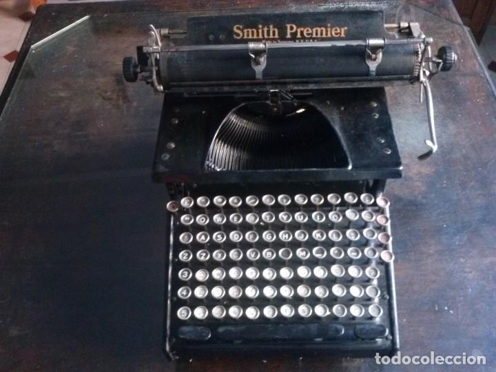 Antigüedades: MAQUINA DE ESCRIBIR SMITH PREMIER 1935 - Foto 2 - 102005351