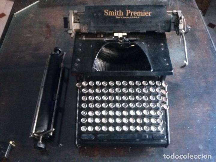 Antigüedades: MAQUINA DE ESCRIBIR SMITH PREMIER 1935 - Foto 8 - 102005351