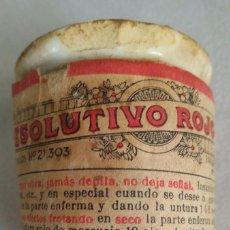 Antigüedades: ANTIGUO BOTE DE FARMACIA VETERINARIA DE PORCELANA. Lote 102077575