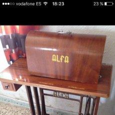 Antigüedades - Máquina de coser ALFA años 50 - 102107279
