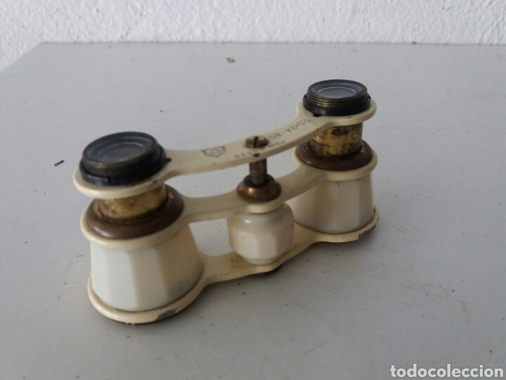 Antigüedades: Antiguos prismaticos russo de baquelita y metal de teatro ...USSR años 30 - Foto 5 - 102357364