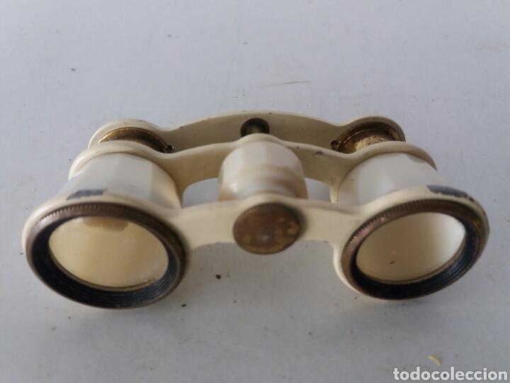 Antigüedades: Antiguos prismaticos russo de baquelita y metal de teatro ...USSR años 30 - Foto 3 - 102357364