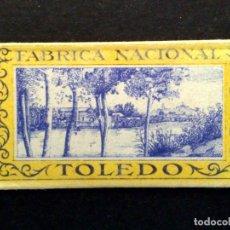 Antigüedades: HOJA DE AFEITAR ANTIGUA-FABRICA NACIONAL DE TOLEDO-VINTAGE. Lote 75606431