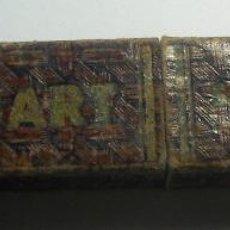 Antigüedades: ANTIGUA CAJA VACIA PARA NAVAJA DE AFEITAR EISEMBART SOLINGEN TYP. Lote 102481891