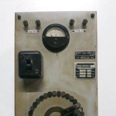 Antigüedades - Tranformador, variador antiguo vintage electrónico - 102602091