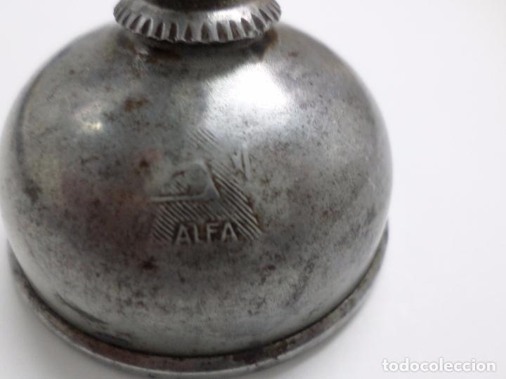 Antigüedades: ENGRASADOR MAQUINA DE COSER ALFA - Foto 3 - 102605247