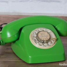 Teléfonos: TELÉFONO HERALDO VERDE LIMA PÁTINA RESTAURADA. Lote 102799716