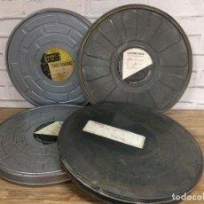 Antigüedades: BOBINA DE PELÍCULAS ANTIGUAS DE CINE DE MADRID FILMS CON FACTURA ORIGINAL DE COLUMBIA PICTURES. Lote 102802082