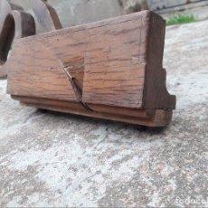 Antigüedades: GARLOPA PARA COLOCACIÓN DE FALLEVAS. Lote 102824943