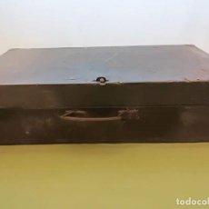 Antigüedades: CAJA HERRAMIENTAS EN MADERA. Lote 102965279