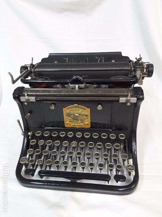 CONTINENTAL DE LOS AÑOS 20 (Antigüedades - Técnicas - Máquinas de Escribir Antiguas - Continental)