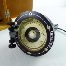 Antigüedades: BRÚJULA PORTÁTIL MARINE COMPASS SAURA HB-65 II MADE IN JAPAN . Lote 102982171