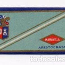 Antigüedades: MARAVILLA ARISTOCRATA FABRICANTE FLEGENSA HOJA DE AFEITAR. Lote 103019599