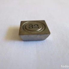 Antigüedades: PONDERAL DE 32 QUILATES 1900. Lote 103022147