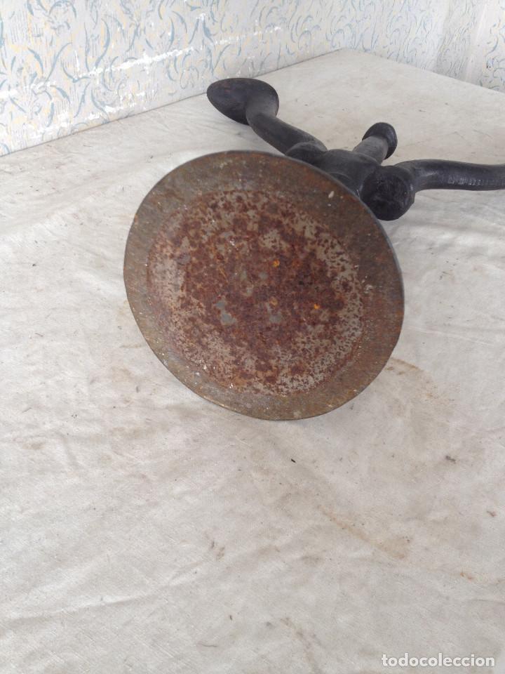 Antigüedades: YUNQUE DE ZAPATERO HIERRO MACIZO - Foto 6 - 103025779