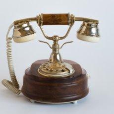 Teléfonos: TELÉFONO DE MADERA MARCADOR ANALÓGICO. Lote 57326373