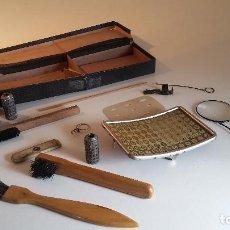 Antigüedades: AEG MIGNON, CAJA ORIGINAL DE EPOCA CON 3 CILINDROS Y 1 PLACA DE INDEX + MAS. OPORTUNIDAD !. Lote 103288859